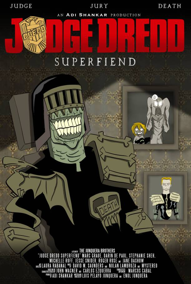 First Images Of Dredd Web-Series