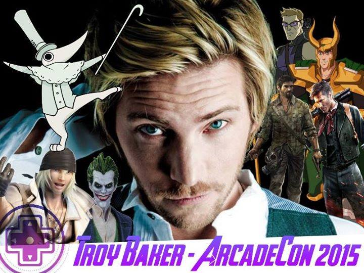 Troy Baker for ArcadeCon 2015