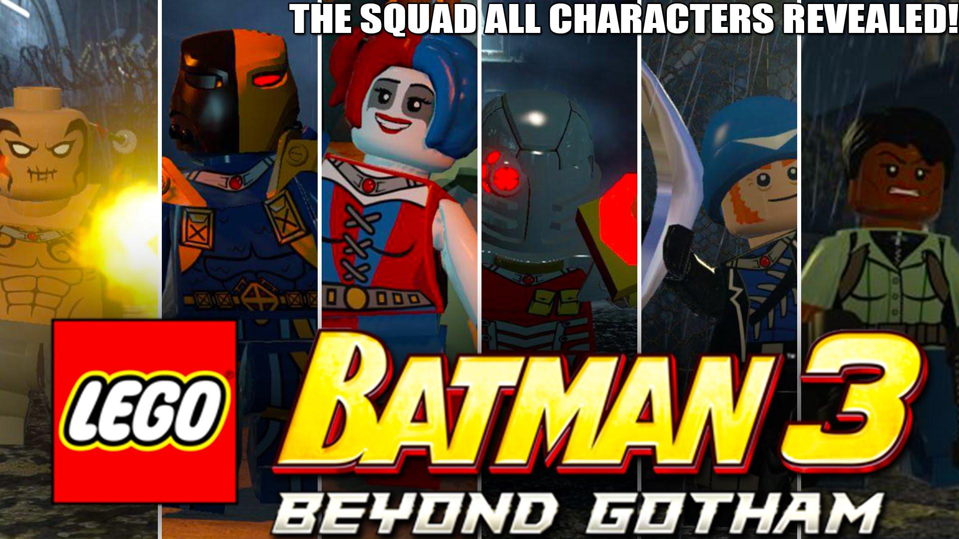 LEGO Batman 3 Beyond Gotham The Squad DLC-BAT