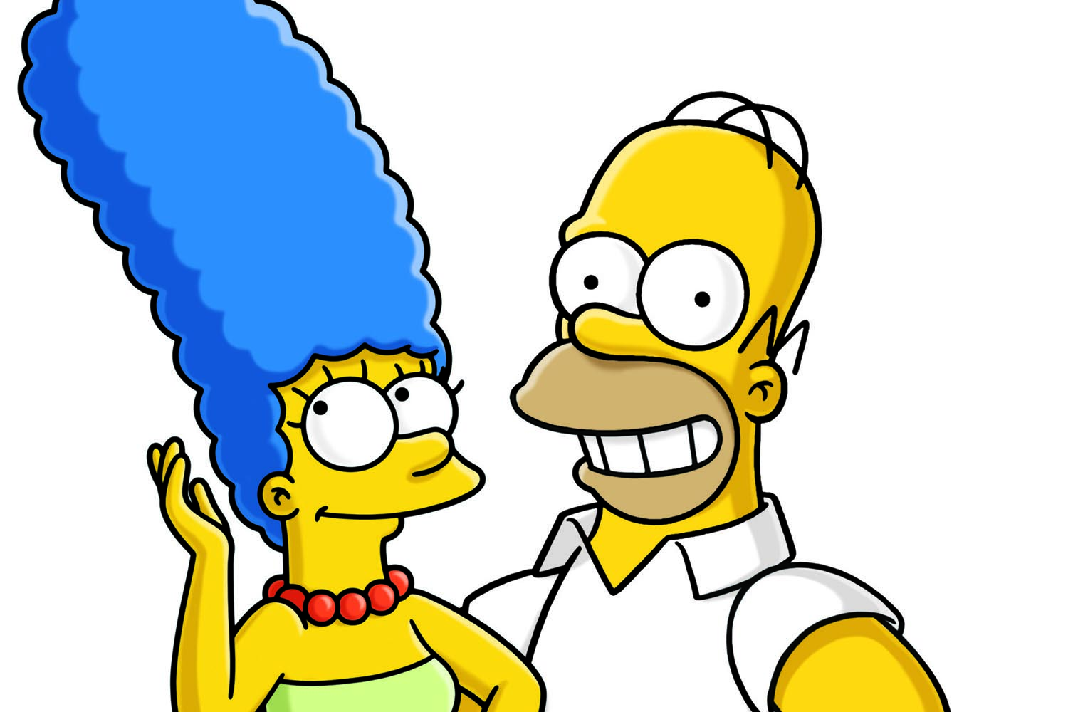 Marge and homer to split in season 27 of the simpsons the arcade - Marge simpson et bart ...