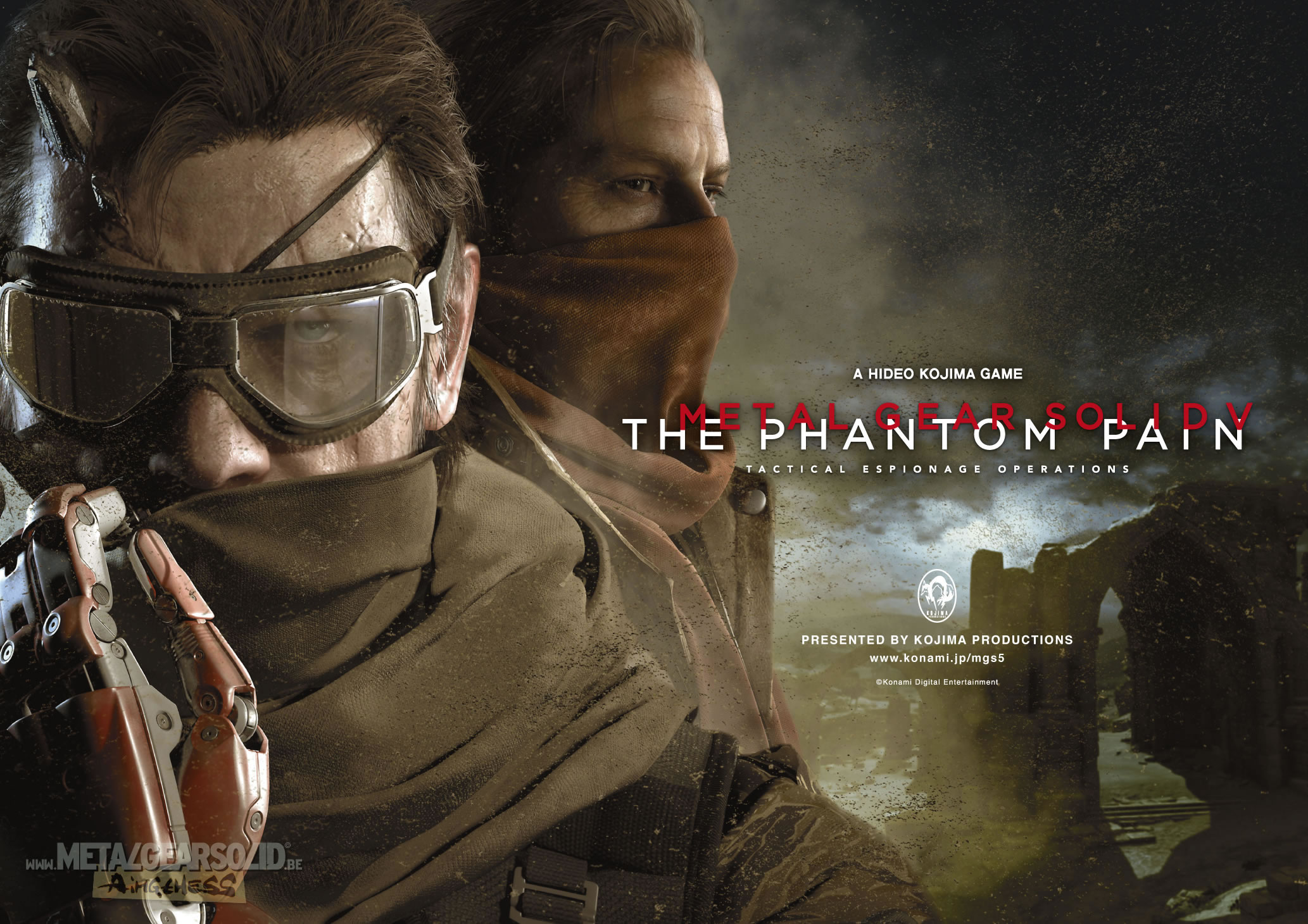 Metal Gear Solid V: The Phantom Pain Will Launch On PC At Same Time As Consoles