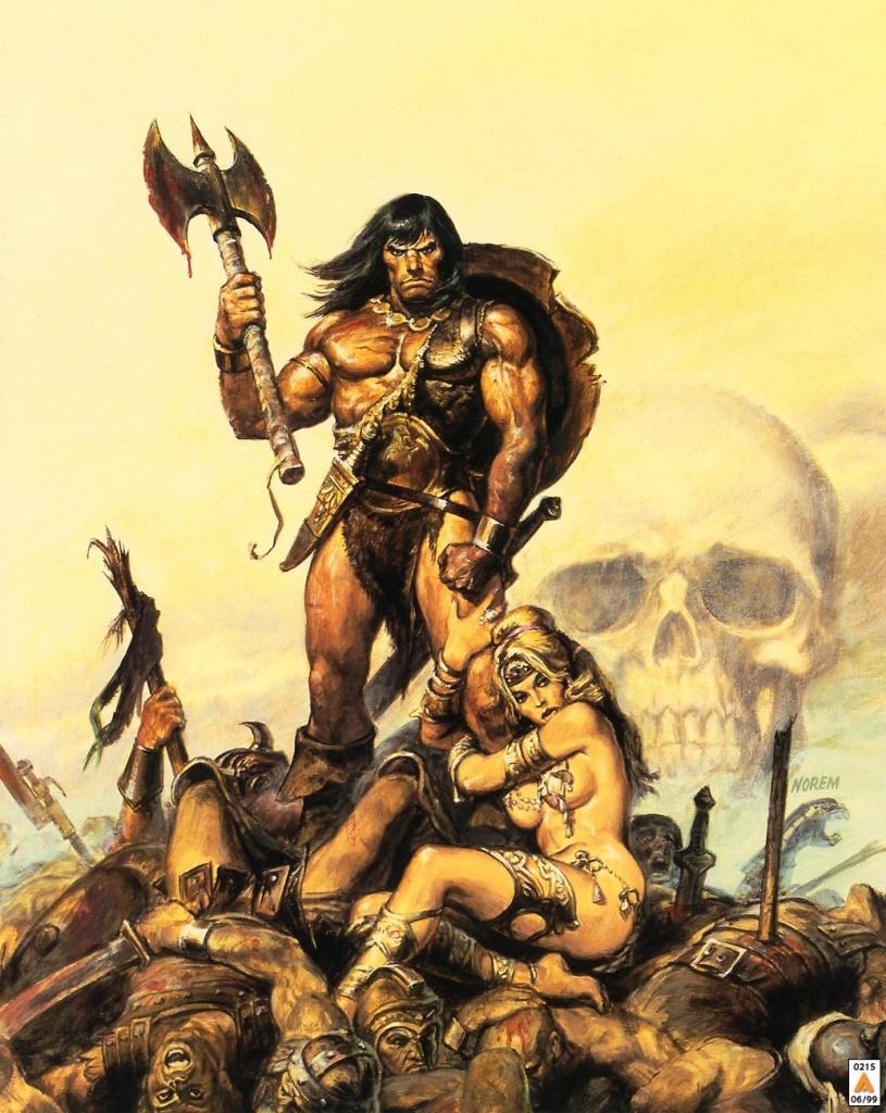 Post -- Conan El Barbaro -- Serie de Amazon Conan