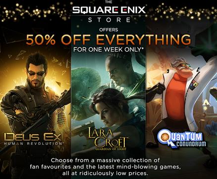 Square Enix Half-Price Sale