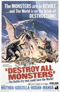 Destroy All Monsters AIP Poster