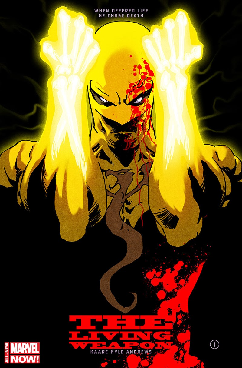 Review – Iron Fist: The Living Weapon #1