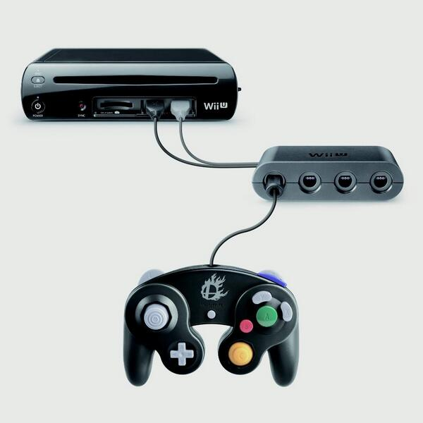 Gamecube Controller Adapter Revealed For Wii U