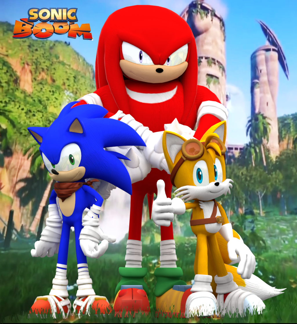 Sonic Boom Will Release This Year And Will Use CryEngine