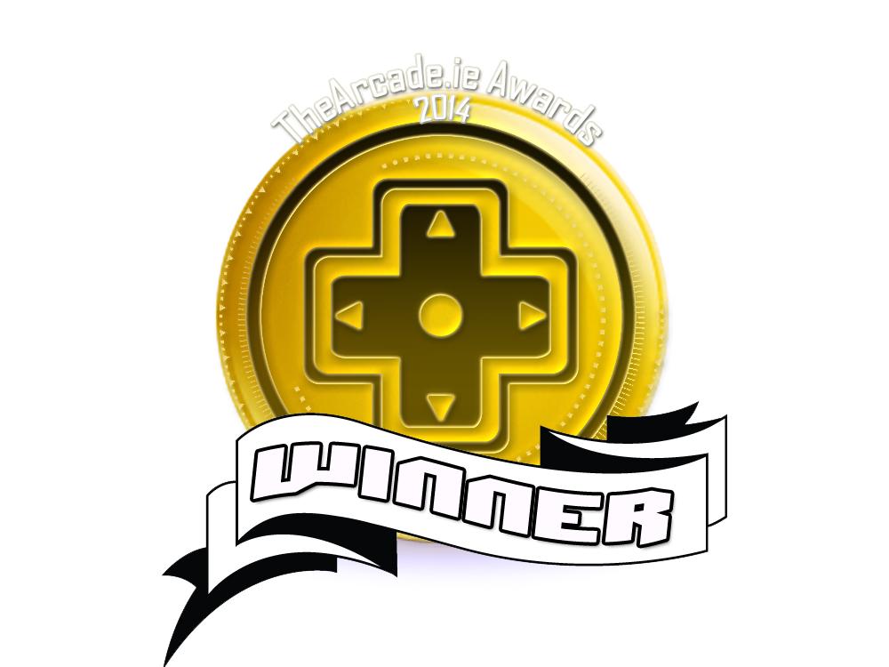 Arcade Awards 2014 Winner Badge