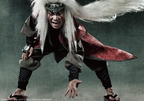 Yoshiaki Umegaki as Jiraiya