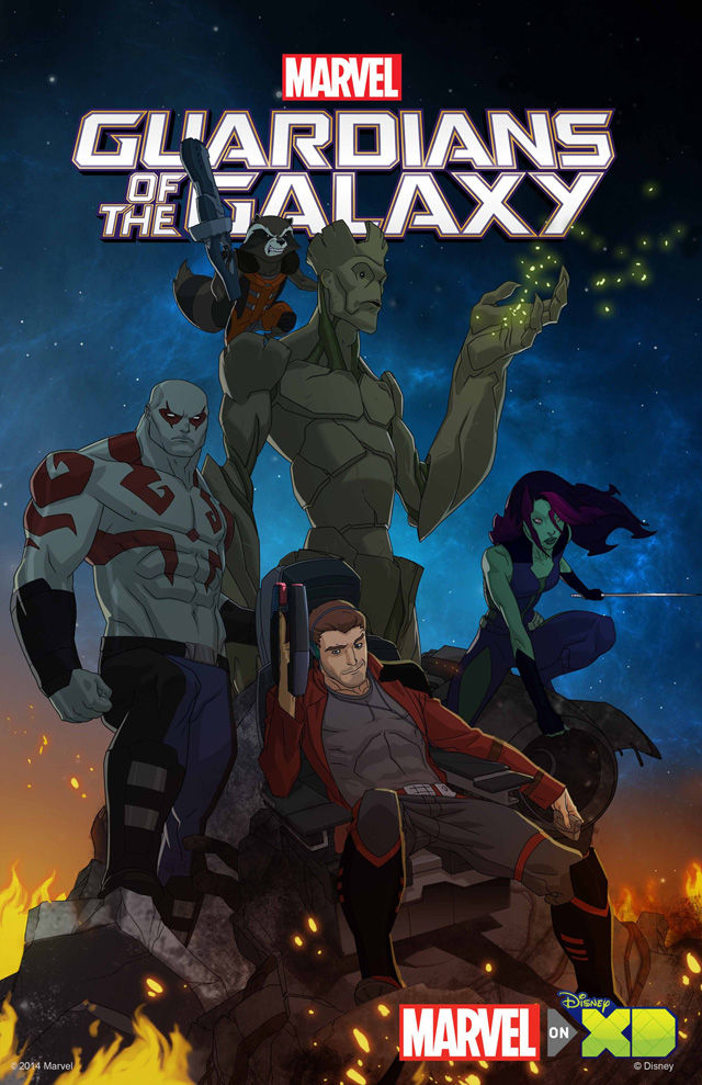 Guardians Of The Galaxy Animated Series Brings All Star Line Up