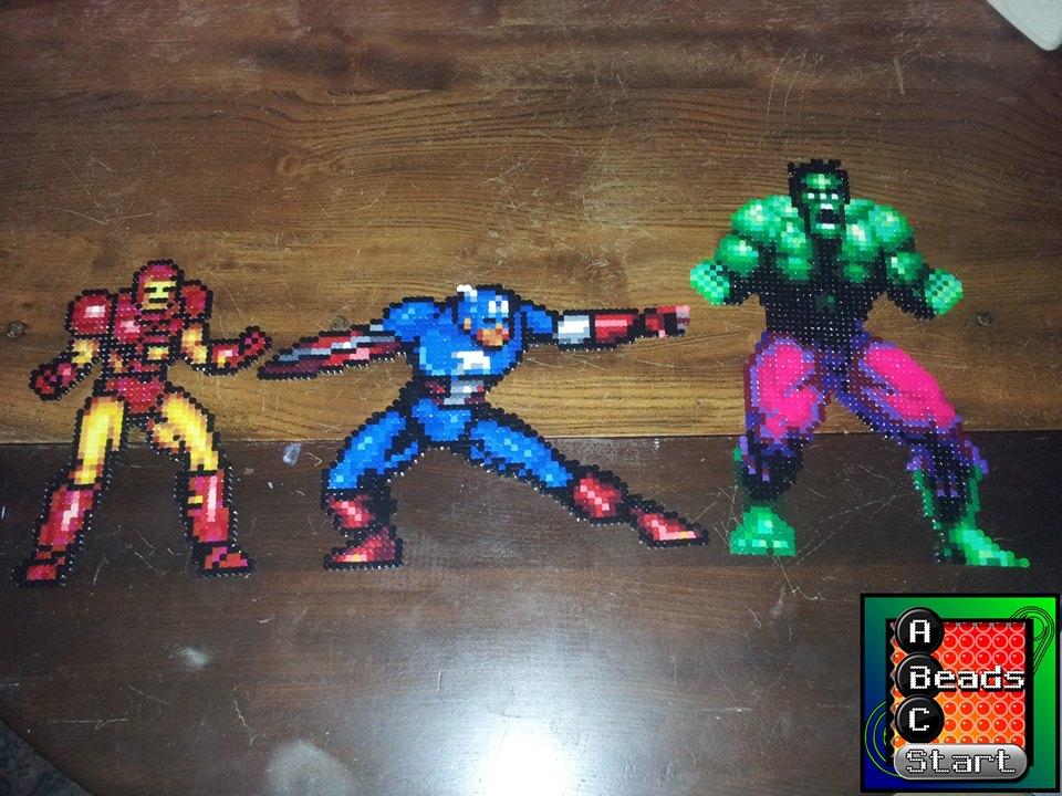 Avengers - A Beads C Start