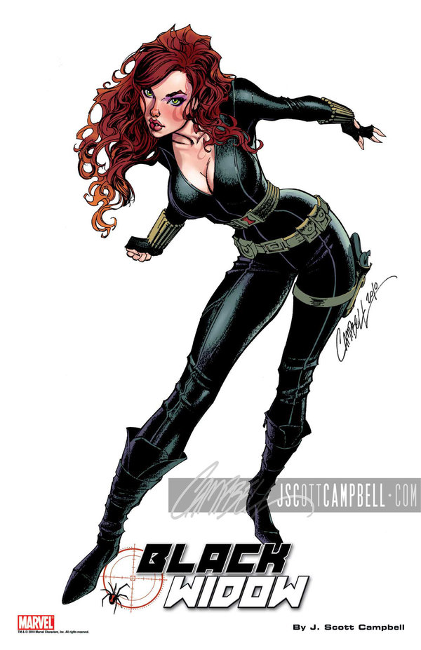 Black Widow - J Scott Campbell