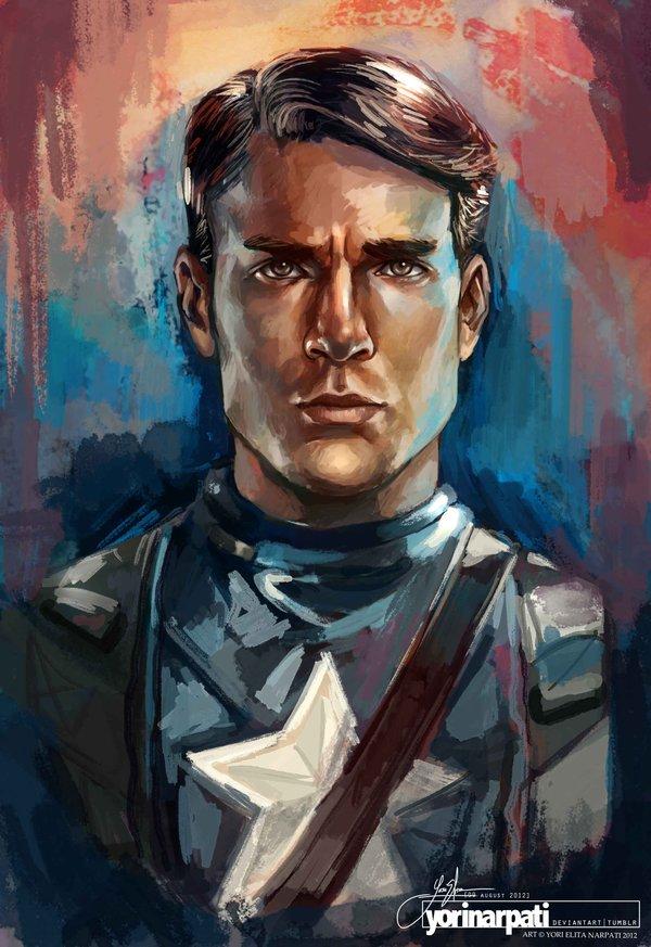 Captain America - Yori Narpati