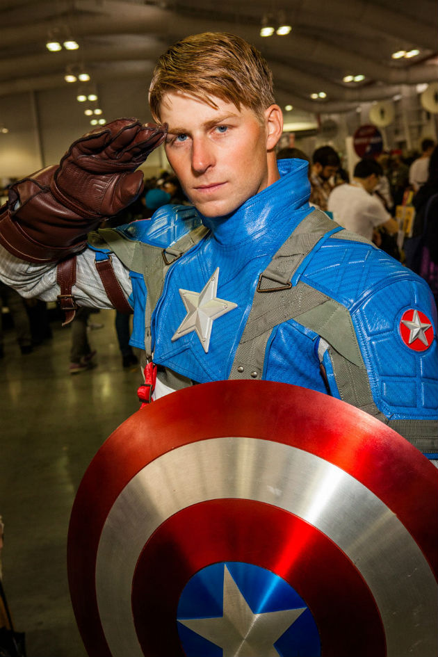 Chris Murray - Captain America