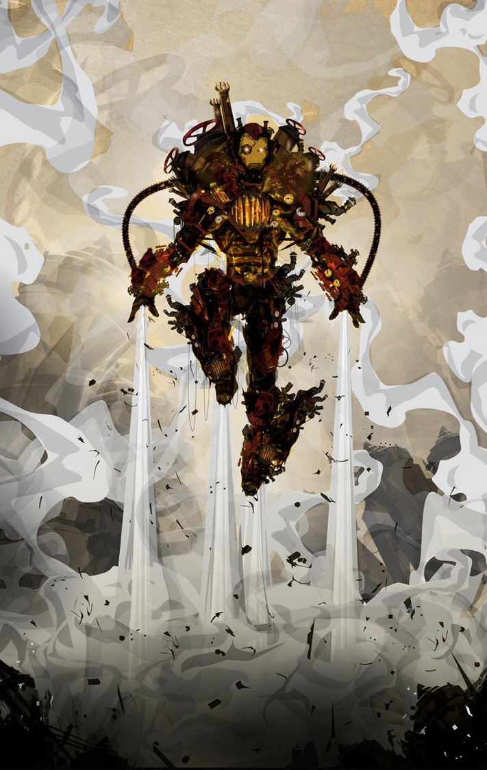 Iron Man - Chasing Artwork