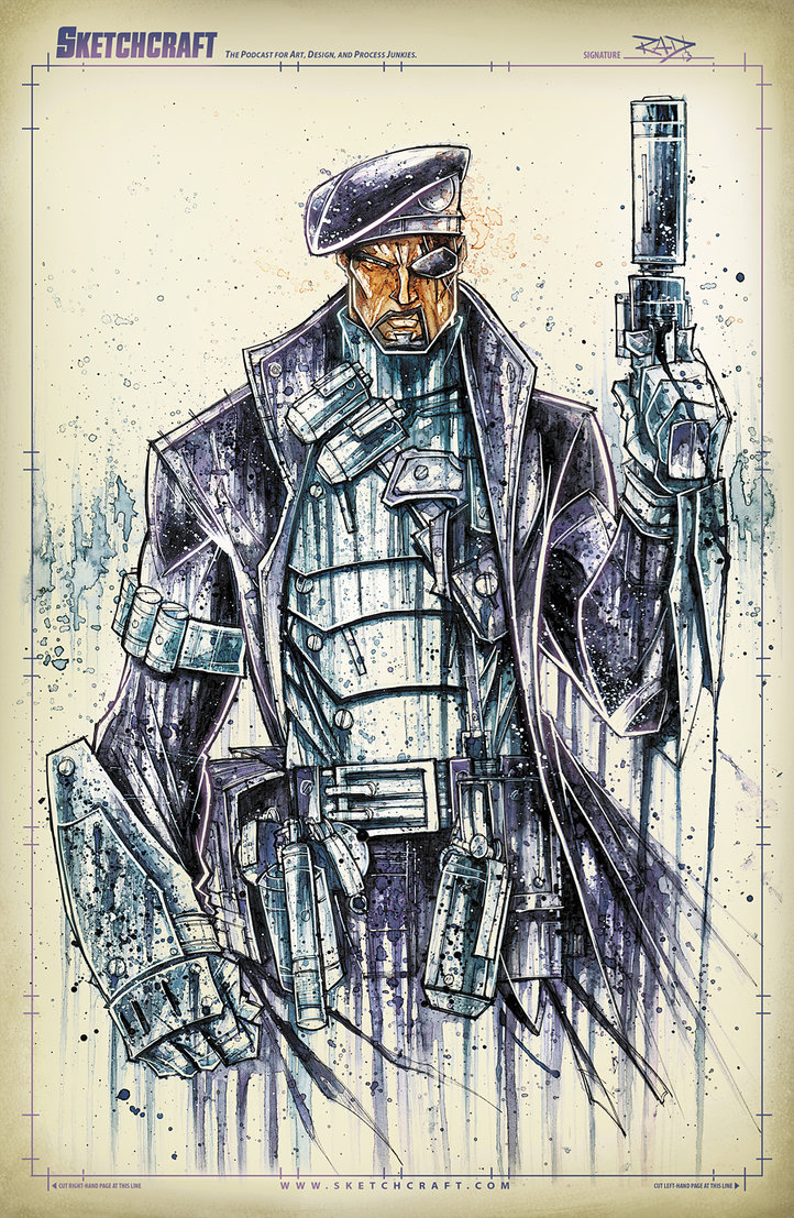 Nick Fury - Rob Duenas