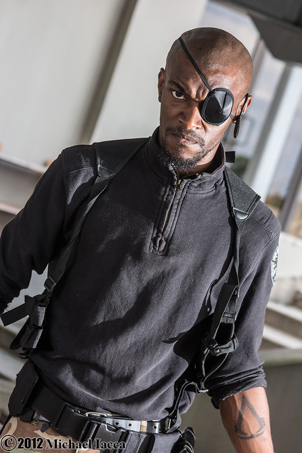 Nick Fury - Sith Lord Maliss Cosplay Photo Michael Iacca