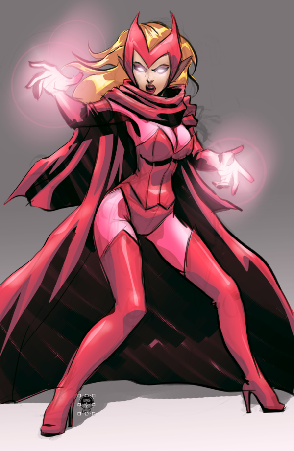 Scarlet Witch - Eryck Webb Graphics