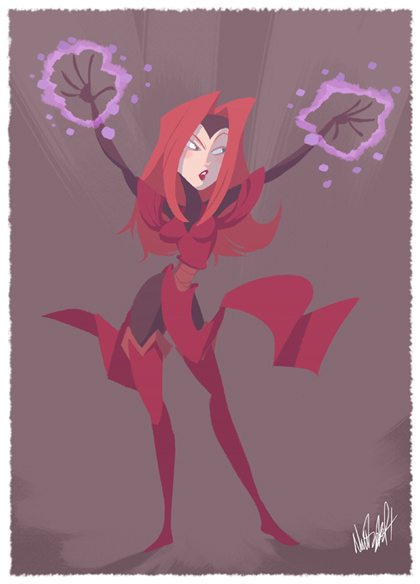 Scarlet Witch - Nick Swift