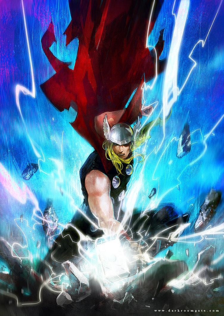 Thor - Haining-art