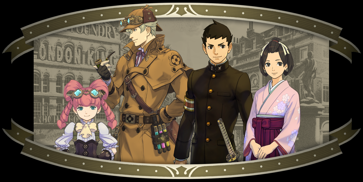 New Ace Attorney Game Trailer Promos Investigation System