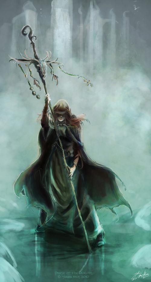 Priest of the Dragons - Lumaris