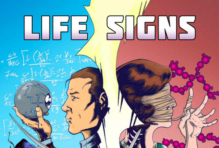 Turncoat Press Launches Irish Comic Book 'Life Signs'
