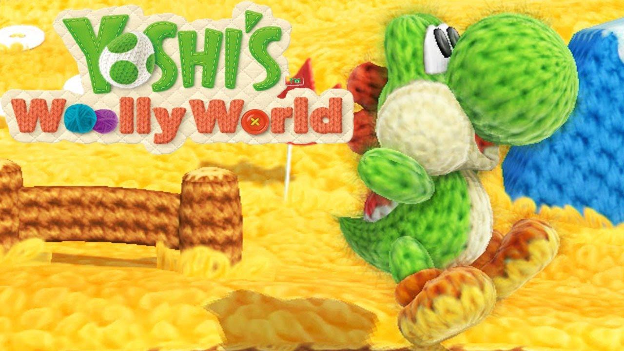 Yoshi's Wooly World Trailer Unveils Amiibo Feature