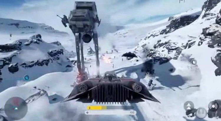 Witness Star Wars Battlefront Gameplay With The Battle Of Hoth Trailer