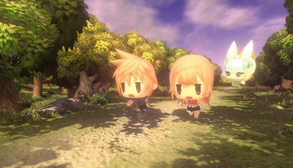 Square Enix Announce World Of Final Fantasy