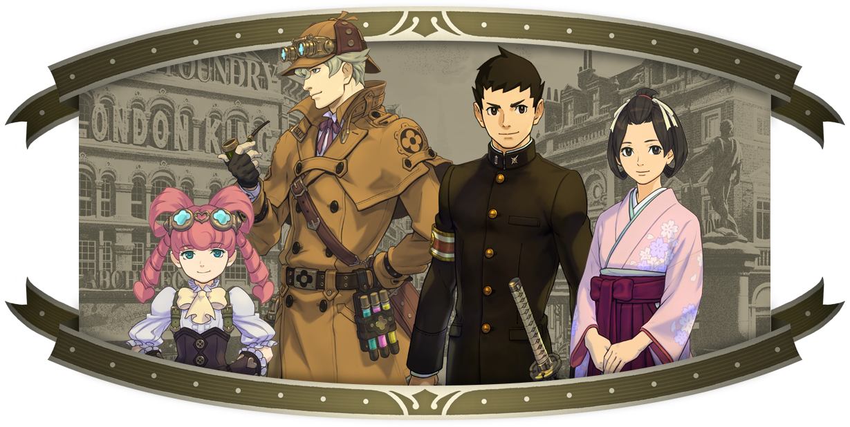 Ace Attorney Video Introduces Sherlock Holmes