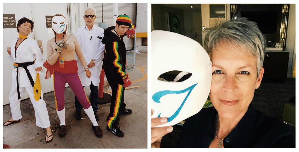 Jamie Lee Curtis Attends EVO In Street Fighter Cosplay