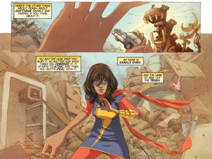 Kamala Khan Comics Being Adapted To Audio Drama