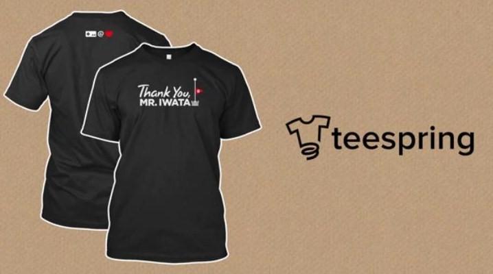 Celebrate Satoru Iwata's Memory With Charity T-Shirt