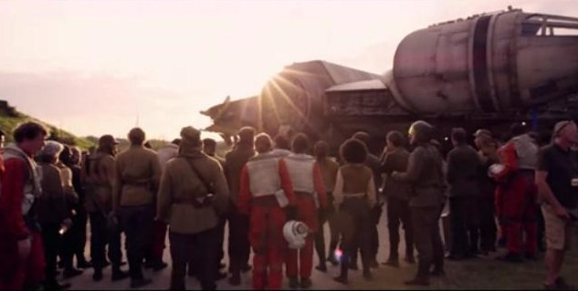 Star Wars: The Force Awakens Comic-Con Footage Is Magic