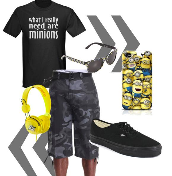 Style Saturday - Minions Men