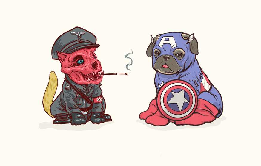 Cute Villains And Superheroes Re-Imagined As Dogs