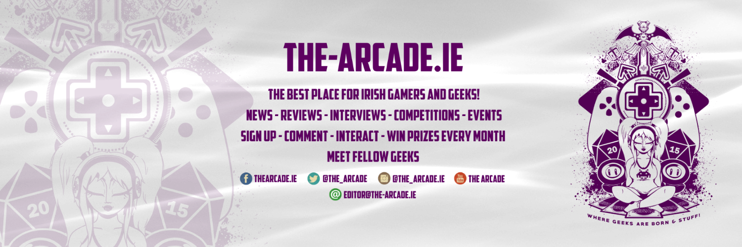 Write For The-Arcade.ie