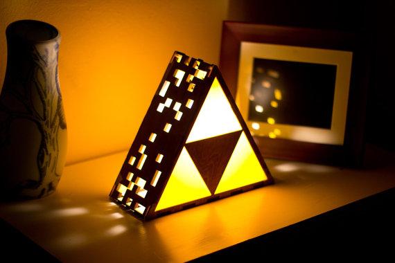 Triforce Lamp