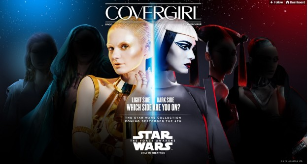 CoverGirl Announces Star Wars Inspired Line