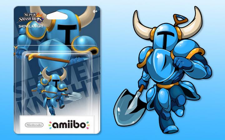 Nintendo Reveals Shovel Knight Amiibo