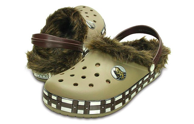 These Are The Chewbacca Crocs We're Looking For