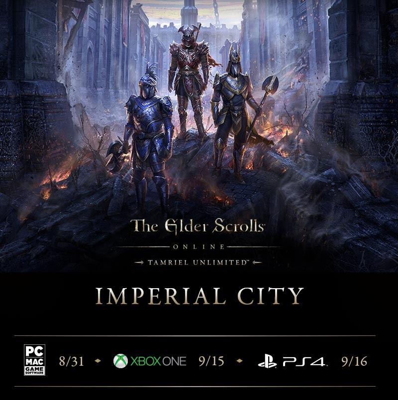 Elder Scrolls Online Imperial City DLC Details Revealed
