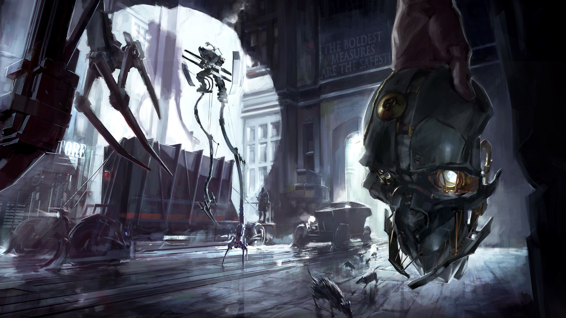 Dishonored Definitive Edition Gets A Launch Trailer