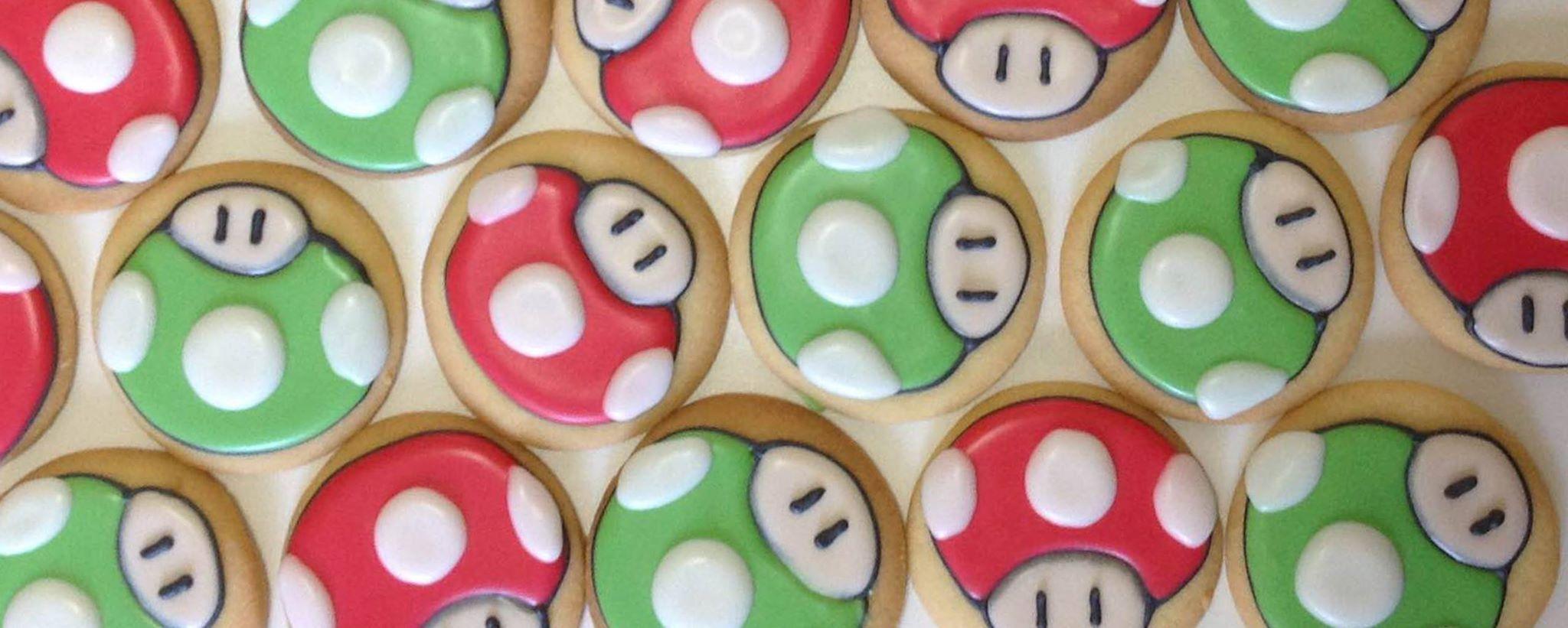 Mario's Mushroom Cookies