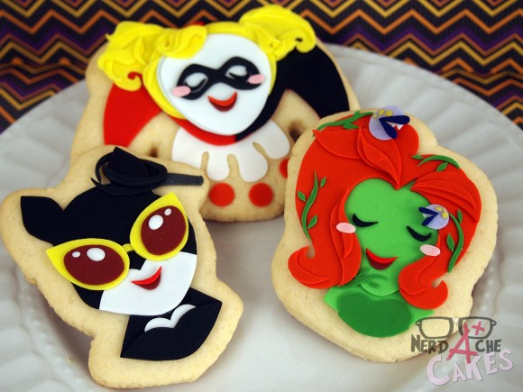 Gotham's Sirens Cookies