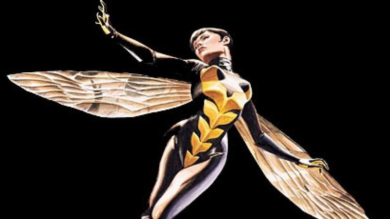 Marvel Reveal Concept Art For The Wasp From The MCU
