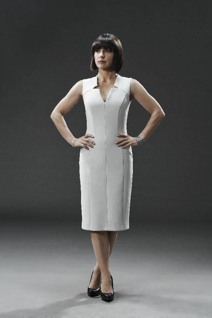 """MARVEL'S AGENTS OF S.H.I.E.L.D. - ABC's """"Marvel's Agents of S.H.I.E.L.D."""" stars Constance Zimmer as Rosalind Price. (ABC/Kurt Iswarienkio )"""