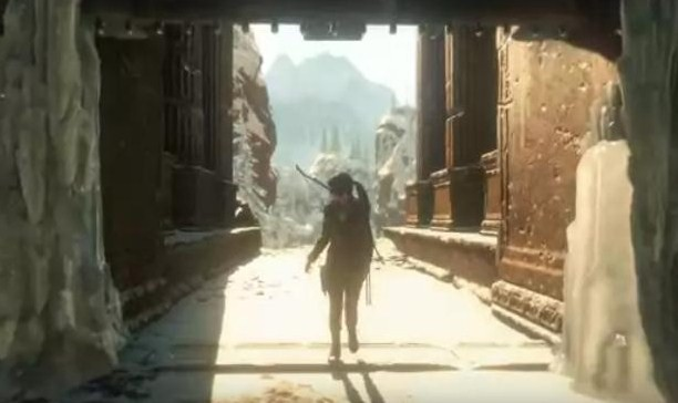 See Lara's Descent In New Rise Of The Tomb Raider Trailer