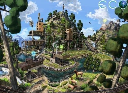 Global Survival Game Eco Seeks Funding